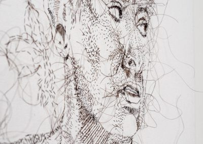Hand Sewn Portrait